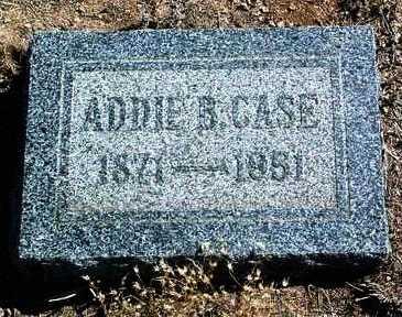 CASE, ADDIE B. - Yavapai County, Arizona   ADDIE B. CASE - Arizona Gravestone Photos