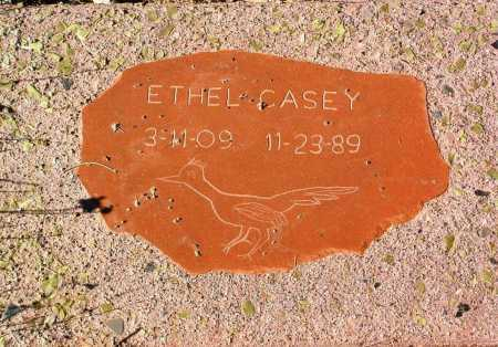CASEY, ETHEL - Yavapai County, Arizona | ETHEL CASEY - Arizona Gravestone Photos