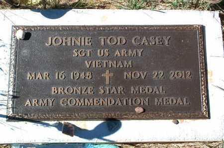CASEY, JOHNIE TOD - Yavapai County, Arizona | JOHNIE TOD CASEY - Arizona Gravestone Photos