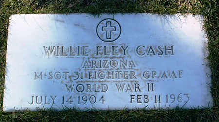 CASH, WILLIE FLEY - Yavapai County, Arizona | WILLIE FLEY CASH - Arizona Gravestone Photos