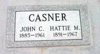CASNER, HATTIE MAUDE - Yavapai County, Arizona | HATTIE MAUDE CASNER - Arizona Gravestone Photos