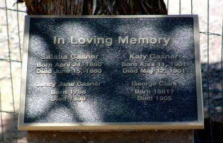 CASNER, JINCY JANE - Yavapai County, Arizona | JINCY JANE CASNER - Arizona Gravestone Photos
