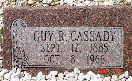 CASSADY, GUY R. - Yavapai County, Arizona   GUY R. CASSADY - Arizona Gravestone Photos