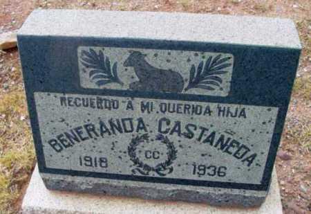 CASTANEDA, BENERANDA - Yavapai County, Arizona | BENERANDA CASTANEDA - Arizona Gravestone Photos