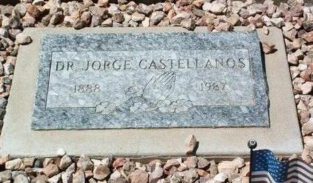 CASTELLANOS, JORGE C. (DR) - Yavapai County, Arizona | JORGE C. (DR) CASTELLANOS - Arizona Gravestone Photos