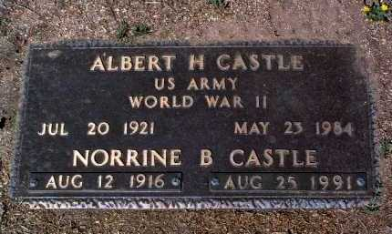 CASTLE, NORRINE B. - Yavapai County, Arizona | NORRINE B. CASTLE - Arizona Gravestone Photos