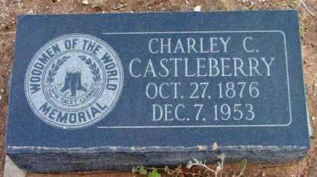 CASTLEBERRY, CHARLEY CLINTON - Yavapai County, Arizona   CHARLEY CLINTON CASTLEBERRY - Arizona Gravestone Photos
