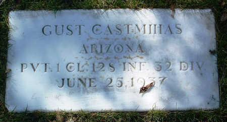 CASTMIHAS, GUST - Yavapai County, Arizona | GUST CASTMIHAS - Arizona Gravestone Photos