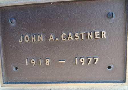 CASTNER, JOHN A. - Yavapai County, Arizona | JOHN A. CASTNER - Arizona Gravestone Photos