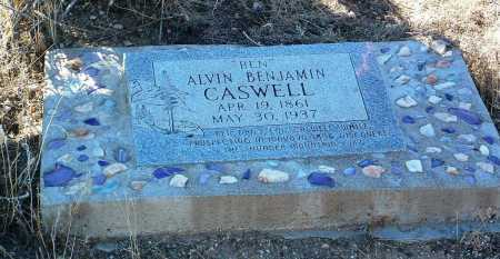 CASWELL, ALVIN BENJAMIN  (BEN) - Yavapai County, Arizona   ALVIN BENJAMIN  (BEN) CASWELL - Arizona Gravestone Photos