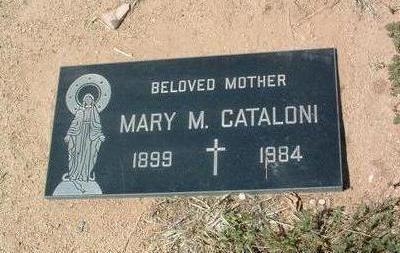CAPPIELO CATALONI, MARY M. - Yavapai County, Arizona | MARY M. CAPPIELO CATALONI - Arizona Gravestone Photos
