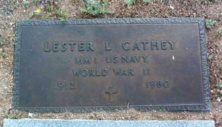 CATHEY, LESTER L. - Yavapai County, Arizona | LESTER L. CATHEY - Arizona Gravestone Photos