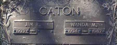 CATON, JIM R. - Yavapai County, Arizona   JIM R. CATON - Arizona Gravestone Photos