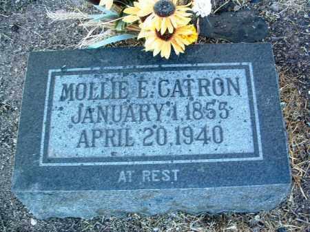CATRON, MARY E. (MOLLIE) - Yavapai County, Arizona | MARY E. (MOLLIE) CATRON - Arizona Gravestone Photos
