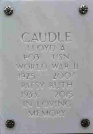 CAUDLE, PATSY RUTH - Yavapai County, Arizona   PATSY RUTH CAUDLE - Arizona Gravestone Photos