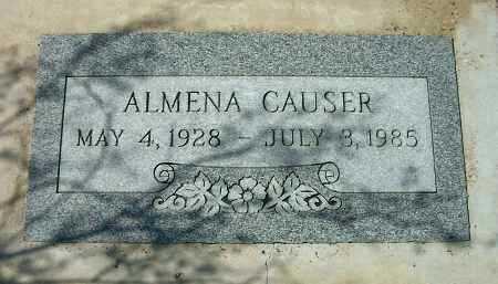 CAUSER, ALMENA - Yavapai County, Arizona | ALMENA CAUSER - Arizona Gravestone Photos