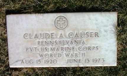 CAUSER, CLAUDE ALBERT - Yavapai County, Arizona   CLAUDE ALBERT CAUSER - Arizona Gravestone Photos