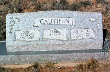 CAUTHEN, JOHN C. - Yavapai County, Arizona | JOHN C. CAUTHEN - Arizona Gravestone Photos