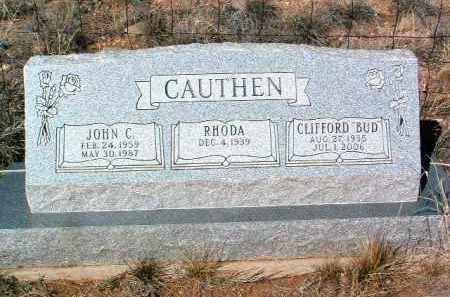 CAUTHEN, RHODA - Yavapai County, Arizona | RHODA CAUTHEN - Arizona Gravestone Photos