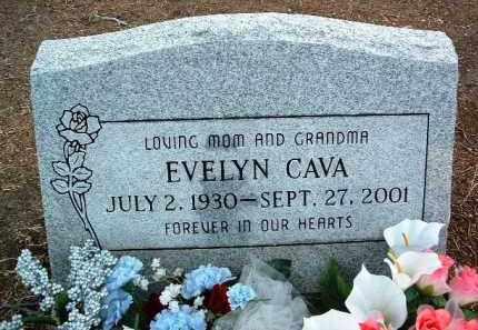 CAVA, EVELYN KATHRYN - Yavapai County, Arizona   EVELYN KATHRYN CAVA - Arizona Gravestone Photos