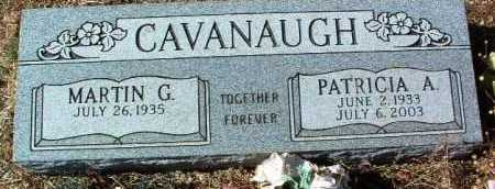 CAVANAUGH, MARTIN G. - Yavapai County, Arizona | MARTIN G. CAVANAUGH - Arizona Gravestone Photos