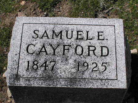 CAYFORD, SAMUEL E. - Yavapai County, Arizona | SAMUEL E. CAYFORD - Arizona Gravestone Photos