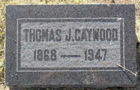 CAYWOOD, THOMAS J. - Yavapai County, Arizona | THOMAS J. CAYWOOD - Arizona Gravestone Photos