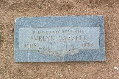 CAZZELL, EVELYN E. - Yavapai County, Arizona | EVELYN E. CAZZELL - Arizona Gravestone Photos