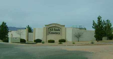 *CEMETERY, ALL SOULS - Yavapai County, Arizona | ALL SOULS *CEMETERY - Arizona Gravestone Photos