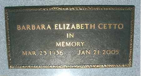 MCNEIL CETTO, BARBARA E. - Yavapai County, Arizona | BARBARA E. MCNEIL CETTO - Arizona Gravestone Photos
