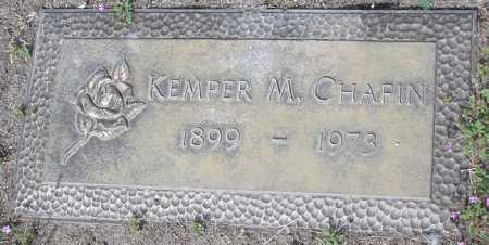 CHAFIN, KEMPER M. - Yavapai County, Arizona | KEMPER M. CHAFIN - Arizona Gravestone Photos
