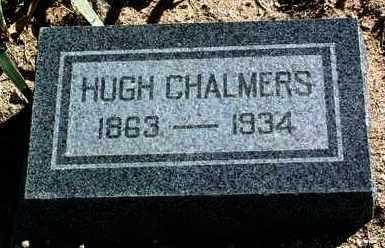 CHALMERS, HUGH - Yavapai County, Arizona   HUGH CHALMERS - Arizona Gravestone Photos