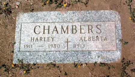 CHAMBERS, HARLEY (HOP) - Yavapai County, Arizona   HARLEY (HOP) CHAMBERS - Arizona Gravestone Photos