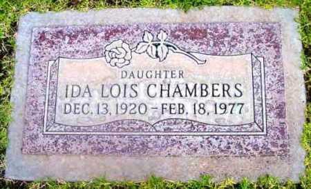 CHAMBERS, IDA LOIS - Yavapai County, Arizona | IDA LOIS CHAMBERS - Arizona Gravestone Photos
