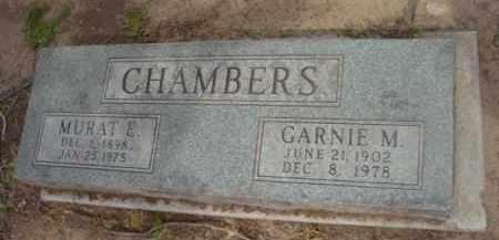 FORD CHAMBERS, GARNIE - Yavapai County, Arizona | GARNIE FORD CHAMBERS - Arizona Gravestone Photos