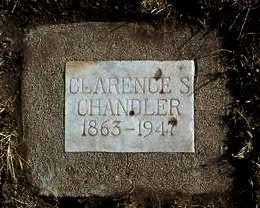 CHANDLER, CLARENCE S. - Yavapai County, Arizona   CLARENCE S. CHANDLER - Arizona Gravestone Photos
