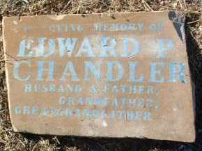CHANDLER, EDWARD PHILLIP - Yavapai County, Arizona | EDWARD PHILLIP CHANDLER - Arizona Gravestone Photos