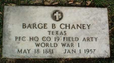 CHANEY, BARGE B. - Yavapai County, Arizona | BARGE B. CHANEY - Arizona Gravestone Photos