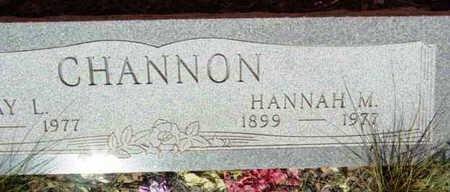 CHANNON, HANNAH M. - Yavapai County, Arizona | HANNAH M. CHANNON - Arizona Gravestone Photos