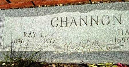 CHANNON, RAY L. - Yavapai County, Arizona | RAY L. CHANNON - Arizona Gravestone Photos