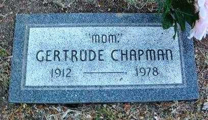HARRISON CHAPMAN, G. - Yavapai County, Arizona | G. HARRISON CHAPMAN - Arizona Gravestone Photos