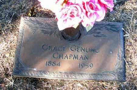 GENUNG CHAPMAN, GRACE - Yavapai County, Arizona | GRACE GENUNG CHAPMAN - Arizona Gravestone Photos