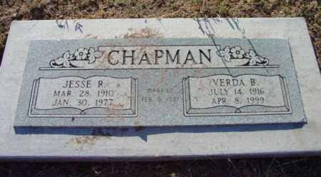 CHAPMAN, VERDA BLANCHE - Yavapai County, Arizona | VERDA BLANCHE CHAPMAN - Arizona Gravestone Photos