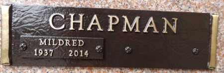 CHAPMAN, MILDRED - Yavapai County, Arizona | MILDRED CHAPMAN - Arizona Gravestone Photos