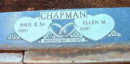 CHAPMAN, ELLEN M. - Yavapai County, Arizona | ELLEN M. CHAPMAN - Arizona Gravestone Photos