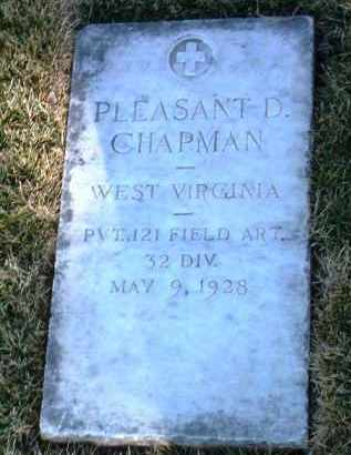 CHAPMAN, PLEASANT D. - Yavapai County, Arizona | PLEASANT D. CHAPMAN - Arizona Gravestone Photos