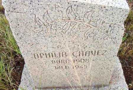 CHAVEZ, OPHILIA - Yavapai County, Arizona | OPHILIA CHAVEZ - Arizona Gravestone Photos