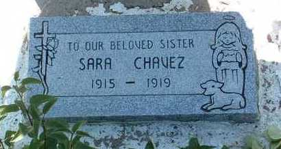 CHAVEZ, SARA - Yavapai County, Arizona | SARA CHAVEZ - Arizona Gravestone Photos