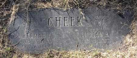 LNU CHEEK, LILLIAN A. - Yavapai County, Arizona | LILLIAN A. LNU CHEEK - Arizona Gravestone Photos
