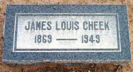 CHEEK, JAMES LOUIS - Yavapai County, Arizona   JAMES LOUIS CHEEK - Arizona Gravestone Photos